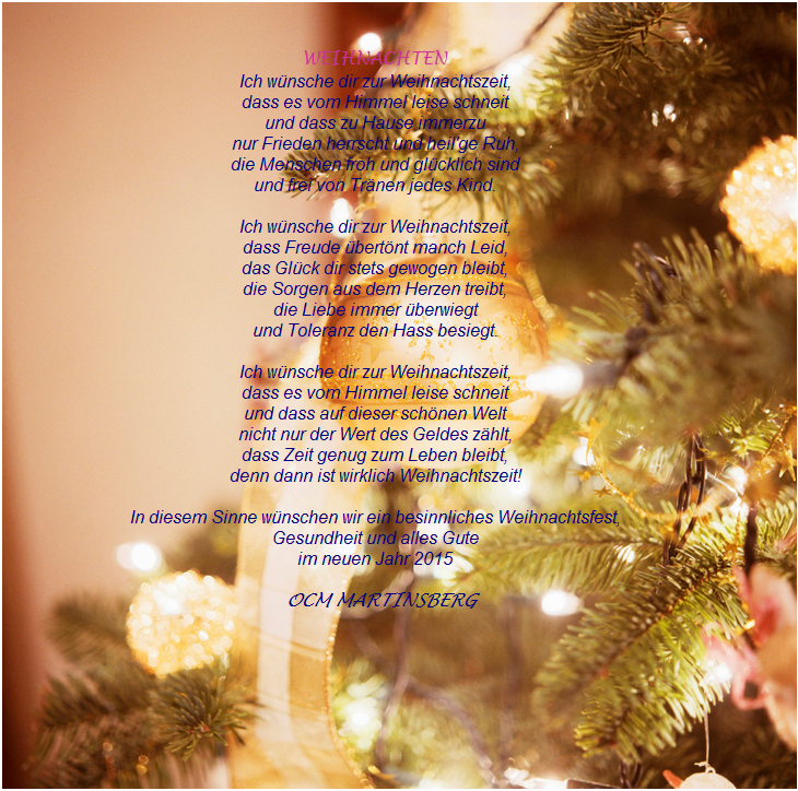 weihnachten zeit der wünsche